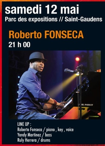 Festival Jazz en Comminges, Roberto Fonseca, Saint-Gaudens