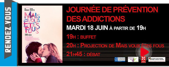 JOURNÉE DE PRÉVENTION DE L'ADDICTION