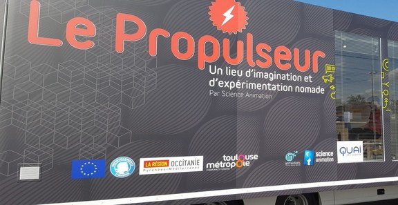Le propulseur. Science animation