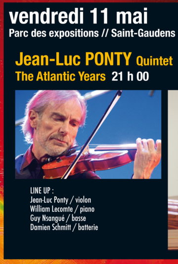 Festival Jazz en Comminges, Jean Luc Ponty, vendredi 11 mai 2018, Saint Gaudens